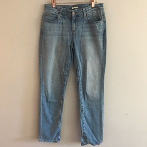 Eileen Fisher Light Wash Straight Leg Jeans